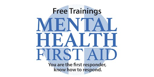Mental Health First Aid - Youth Version, October 25