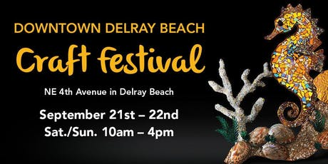 25th Annual Downtown Delray Beach Craft Festival tickets