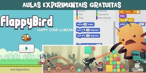 Aulas Experimentais de Programação de Jogos (7-12 anos)