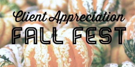 Client Appreciation Fall Fest