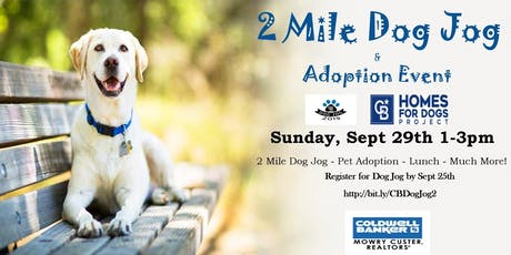 2 Mile Dog Jog & Adoption Event tickets