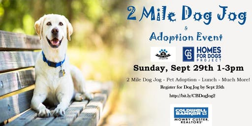 2 Mile Dog Jog & Adoption Event