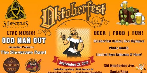 Oktoberfest at 3 Disciples Brewing!
