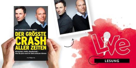 LESUNG: Marc Friedrich und Matthias Weik Tickets