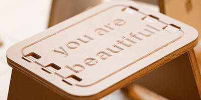 Workshop: You Are Beautiful Step Stool
