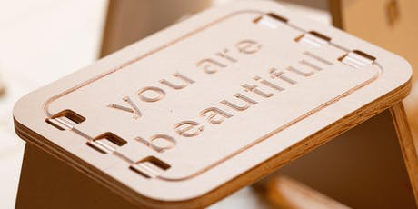 DIY: You Are Beautiful Step Stool tickets