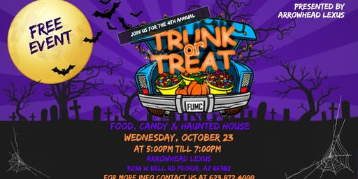 4th Annual Trunk or Treat DAY 1