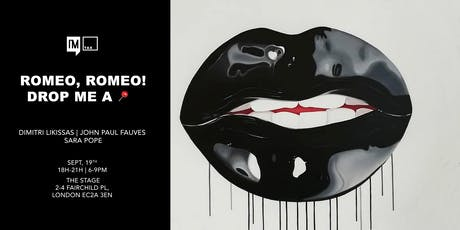 """Romeo, Romeo! Drop me a Pin."" Art Exhibition Opening Reception tickets"