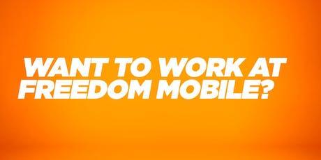 Freedom Mobile Career Fair tickets