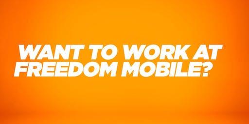 Freedom Mobile Career Fair
