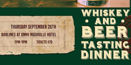 Whiskey & Beer Tasting Dinner with Jameson & Black Abbey tickets