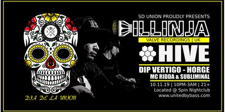 SD Union w/ Dillinja & Hive tickets