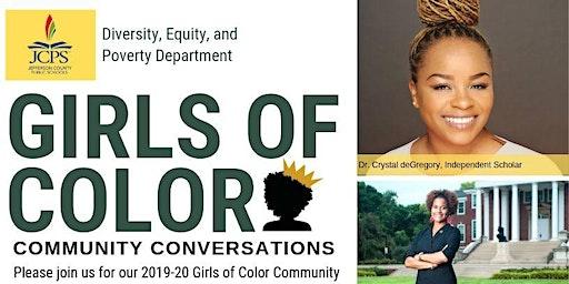 Girls of Color Community Conversation