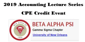 2019 Accounting Lecture Series