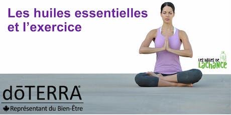 WEBINAIRE Les Huiles essentielles et l'Exercice et Performance billets