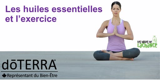 WEBINAIRE Les Huiles essentielles et l'Exercice et Performance