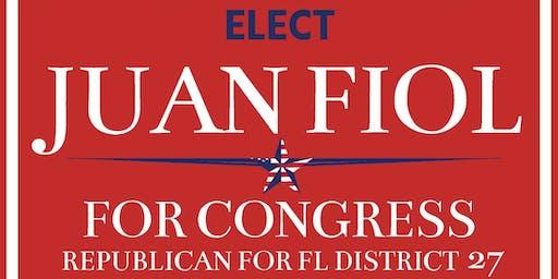 Meet & Greet with Juan Fiol - Campaign Fundraiser