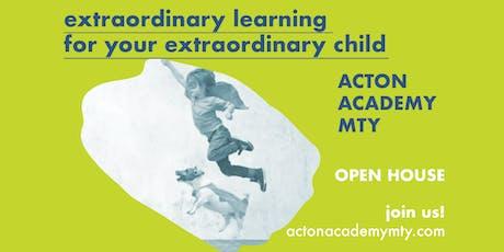 Sin tareas, sin exámenes, sin profesores. Aprendizaje para el siglo XXI: conoce Acton Academy Monterrey tickets