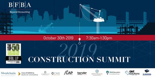 BFBA Construction Summit 2019