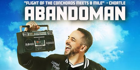 Ireland's finest freestyle hip-hop comedian, Abandoman, in NYC!  tickets