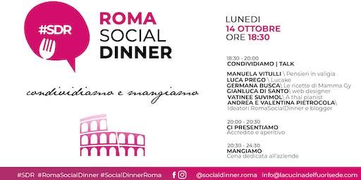 ROMA SOCIAL DINNER