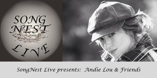 SongNest presents Andie Lou and Friends, Tuesday November 12th, 2019