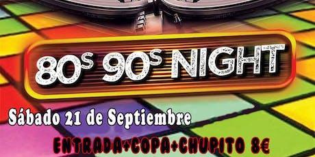 80s 90s Night entradas
