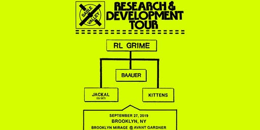 RL Grime - Research & Development Tour