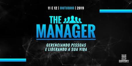 THE MANAGER - Gerenciando pessoas e Liderando a sua vida  tickets