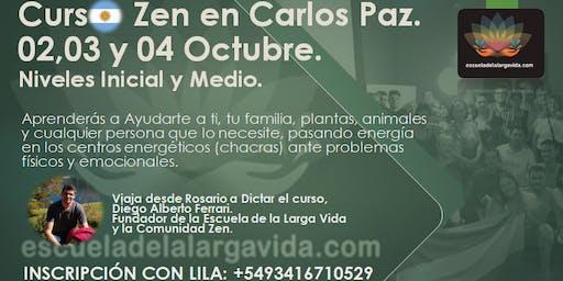 Curso Zen en Carlos Paz: 02,03 y 04 Octubre.