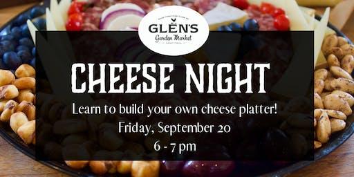 Cheese Night at Glen's