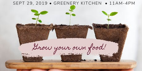 Grow your own food and Learn composting tickets