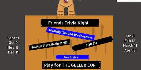 Friends Trivia Night tickets