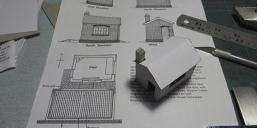 Scratchbuilding structures from card