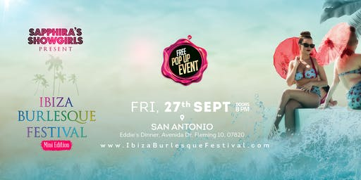 Ibiza Burlesque Festival Pop Up Event