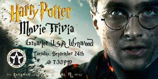 Harry Potter Movies at Growler USA Wynwood