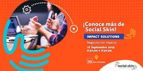 Impact Solutions: Negocios con impacto boletos
