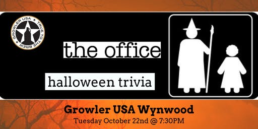 The Office *HALLOWEEN EPISODES* Trivia at Growler USA Wynwood