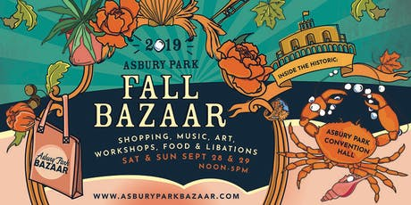 Asbury Park Fall Bazaar tickets
