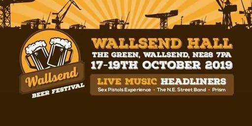 Wallsend Beer Festival.  3 Day Event.  40 Real Ales & Ciders.  Live Music.