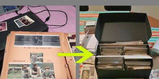 Family Photo Album Preservation