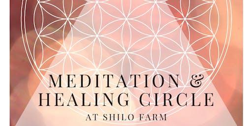 Meditation & Healing Circle by donation