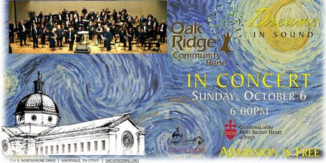 Cathedral Concert: Oak Ridge Community Band tickets