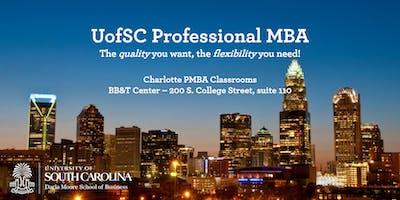 Professional MBA Program - Charlotte Information Session
