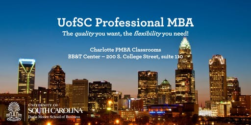 Professional MBA Program - Charlotte Information Session