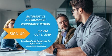 Automotive  Aftermarket Roundtable with Slimstock Canada tickets