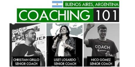 Coaching 101 Buenos Aires entradas