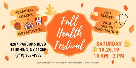 Fall Health Festival tickets