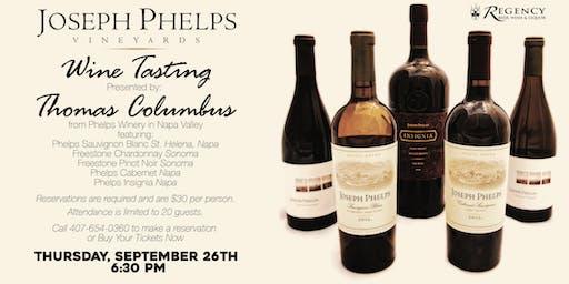 Joseph Phelps Wine Tasting