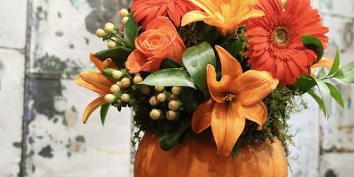 Pumpkins, Petals and Pinot